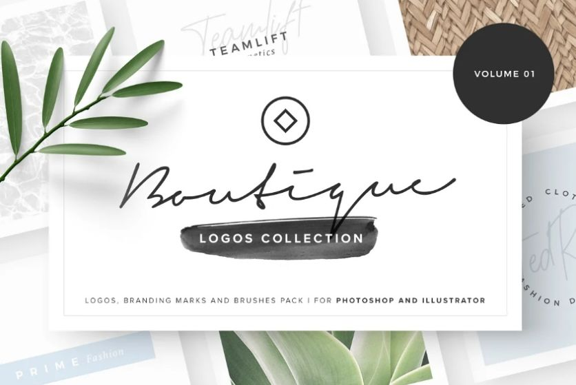 Boutique Style Logo Design Idea