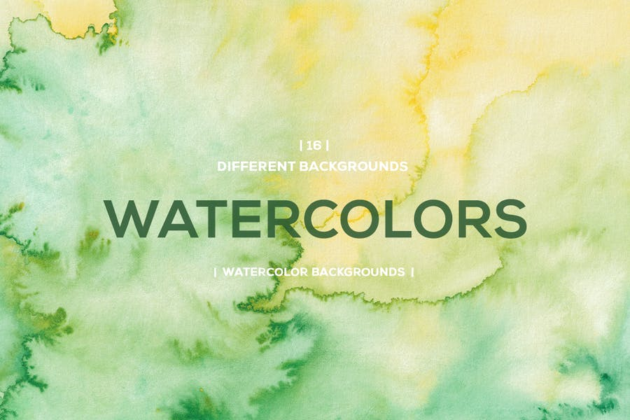 Bright Style Watercolor Backgrounds