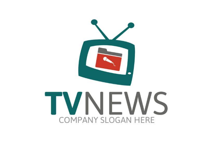 Broadcast Company Logo Design