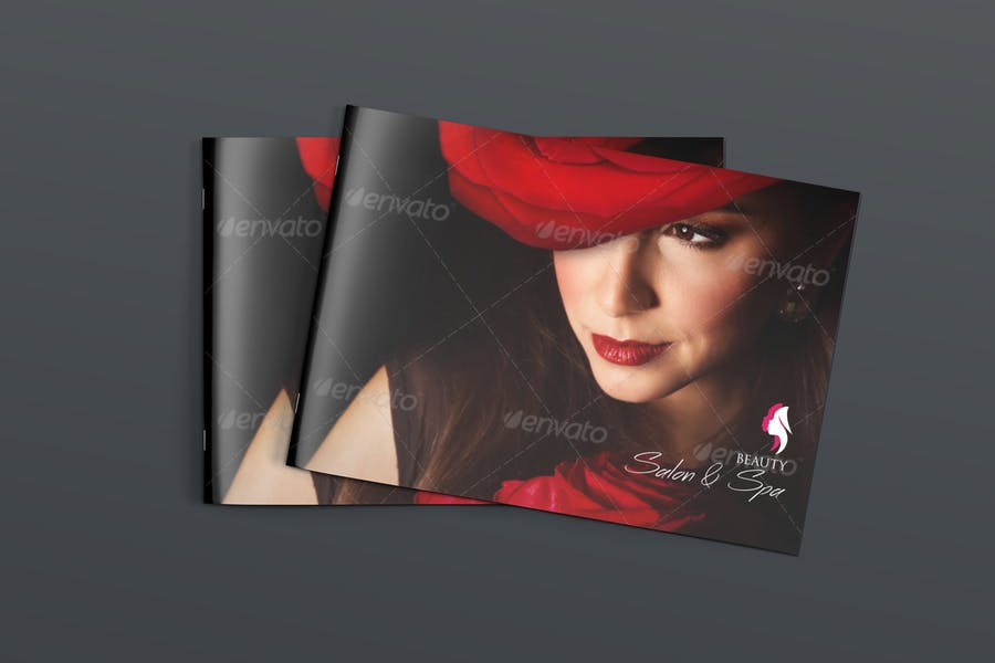 Brochure for Spa and Salon