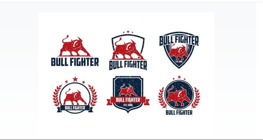 Bull Fighting Logotype