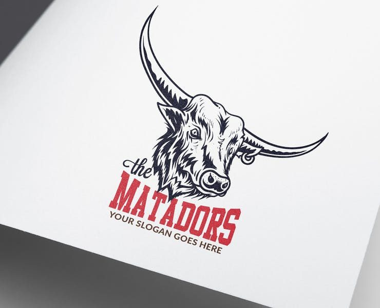 21+ Best Bull Logo Design Templates Download