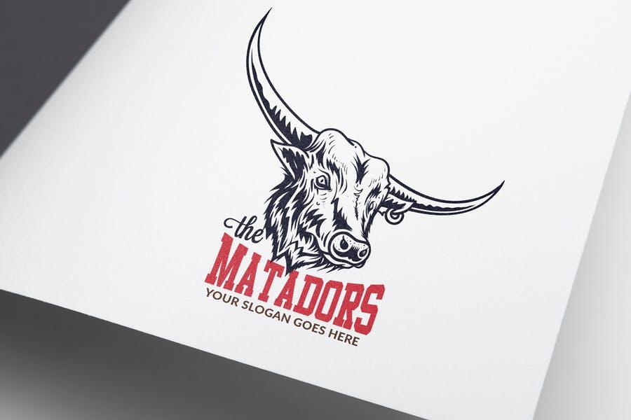 Bull Horn Logo Designs