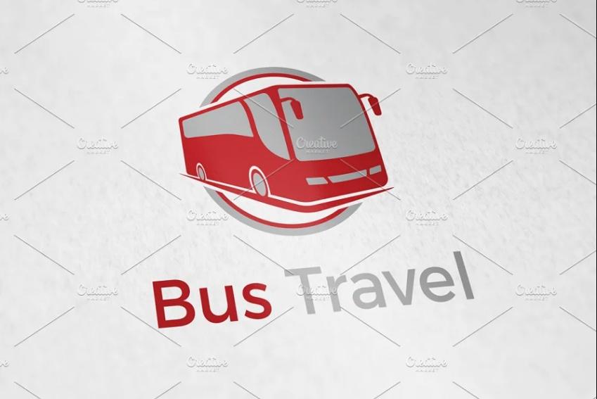Bus Travel Logo Design