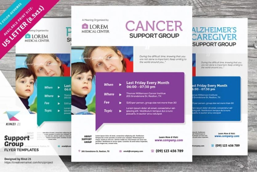 Cancer Support Group Flyer Template