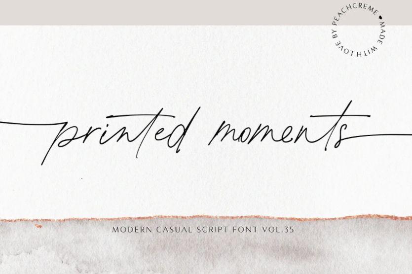Casual Pen Script Typeface