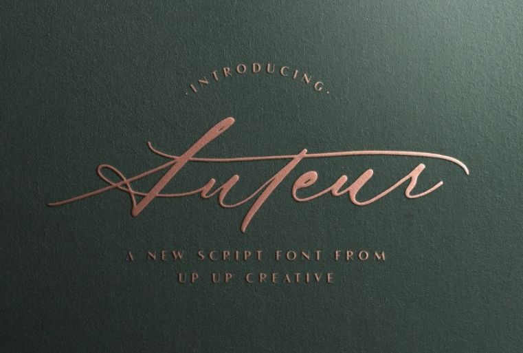 Casual and Elegance Typeface