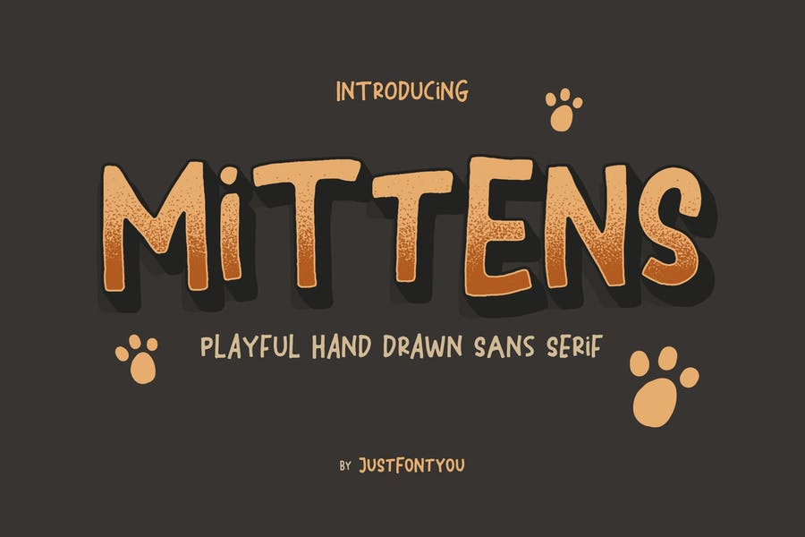 Casual and Playful Hand Drawn Fonts