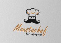 Mustache logo designs