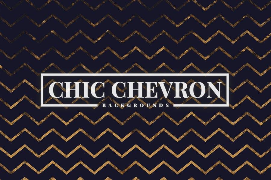 Chic Chevron Background Designs