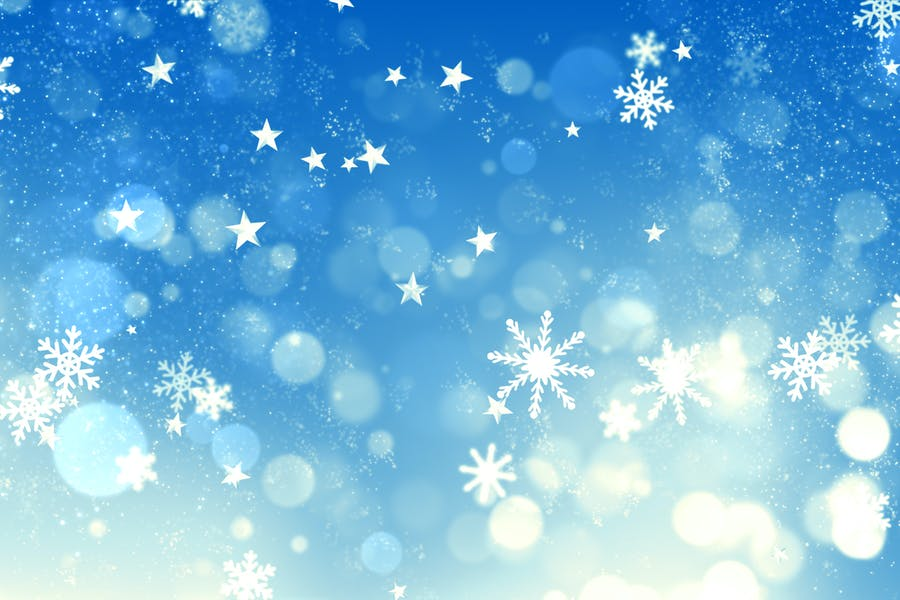 Christmas Glitter Style Background