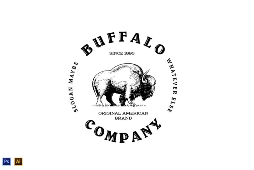 Circular Animal Logo Template