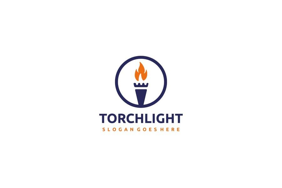 Circular Light Logo Design
