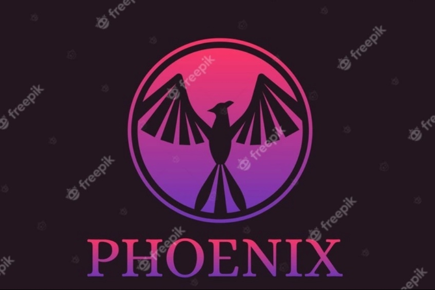 Circular Phoenix Logo Design