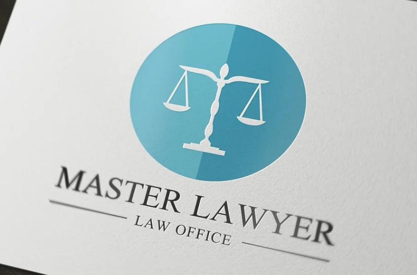 Circular Style Law Firm Logo