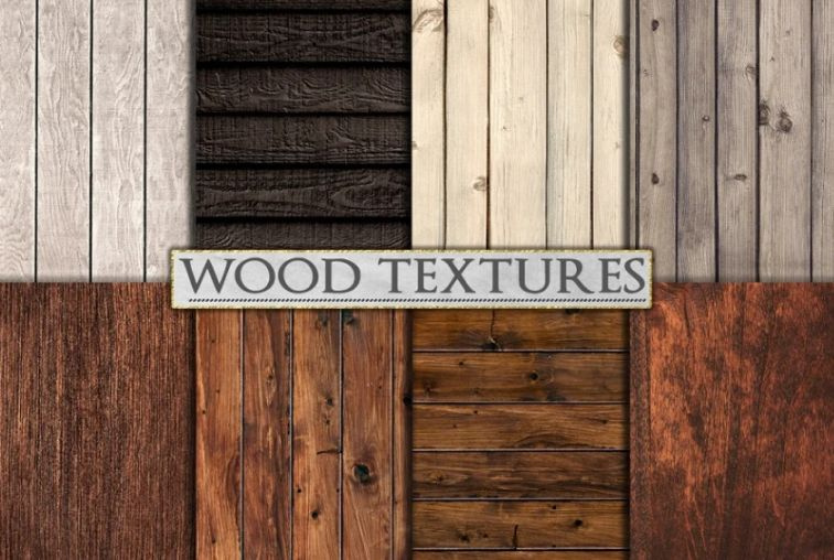 Clean and Rustic Wood Backgrounds