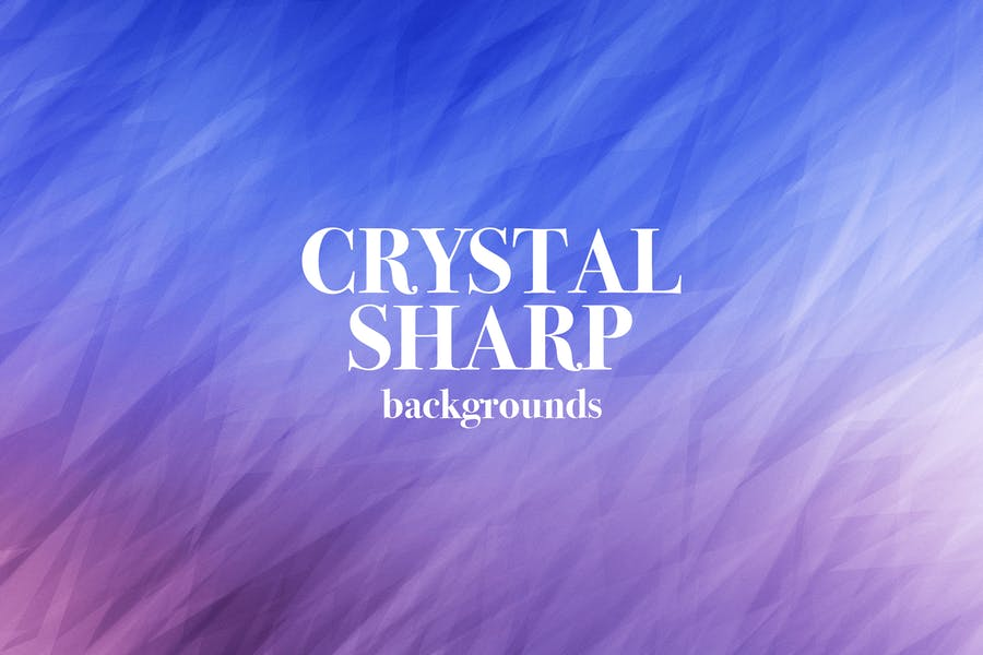 Cleand and Sharp Crystal Backdrops