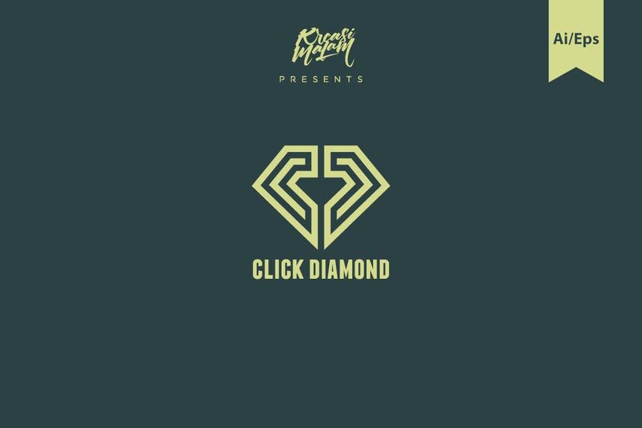 Click Style Diamond Logotype