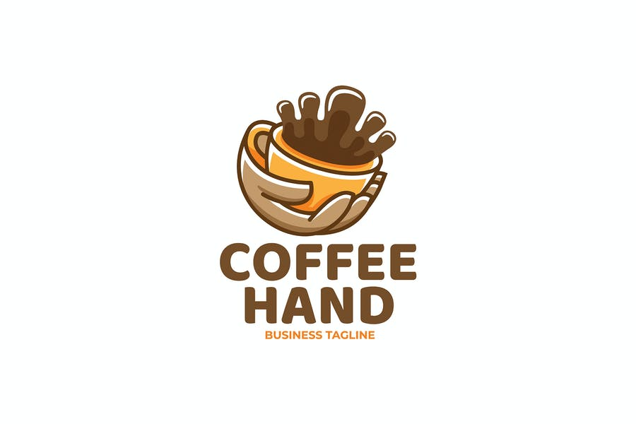 Coffee Hand Logotype Design