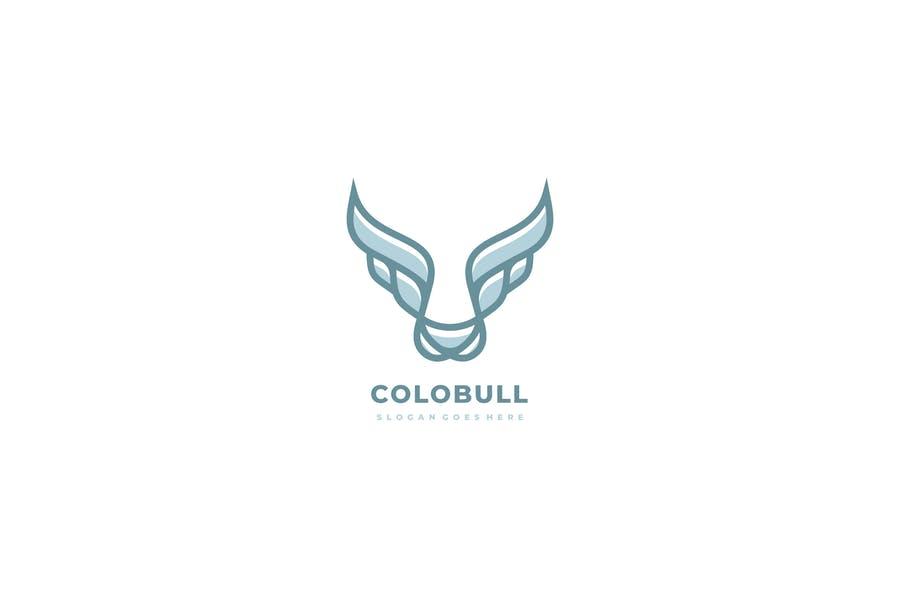 Colorful Bull Identity Design