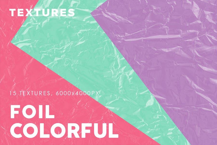 Colorful Foil Textures