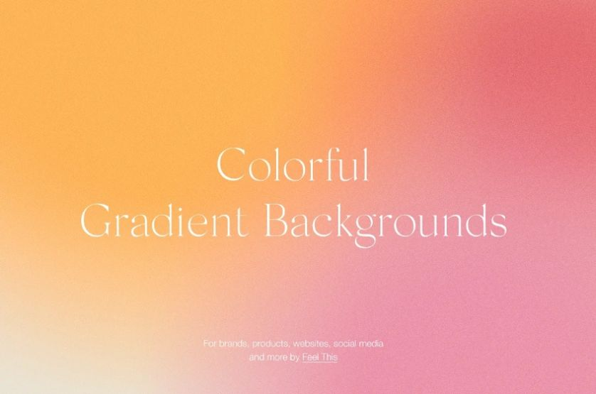 Colorful Grainy Background Bundle