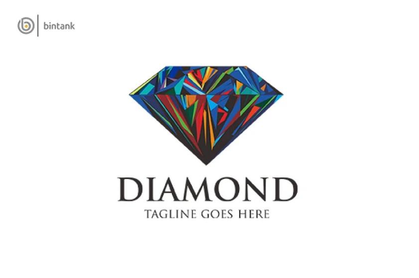 Colorful Jewelry Logo Design