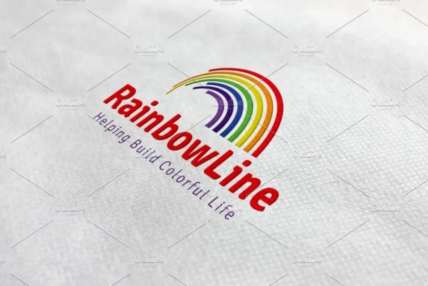 Colorful Logo Design Idea