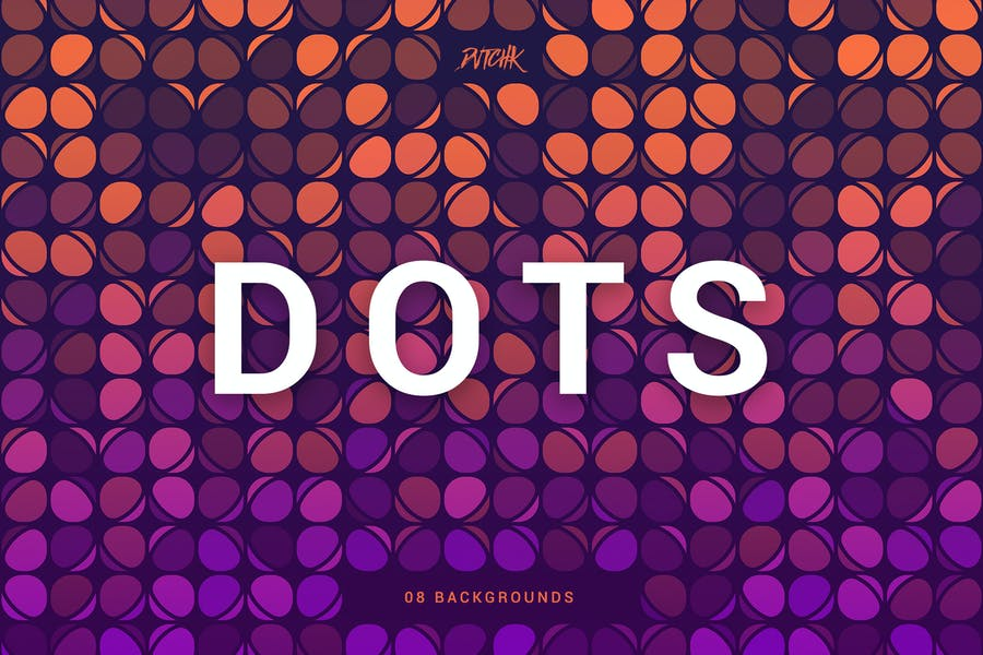 Colorful Party Dot Backgrounds