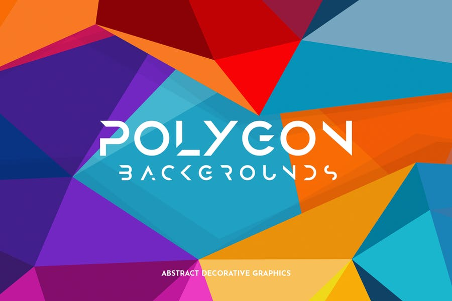 Colorful Polygon Textures