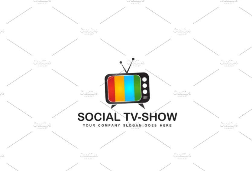 Colorful TV Logo Designs