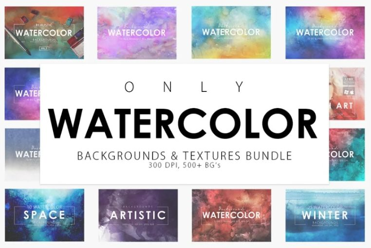 Colorful Watercolor Wallpapers