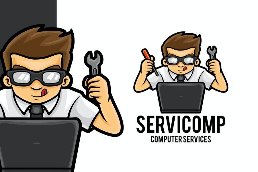 Computer Service Logotype Design