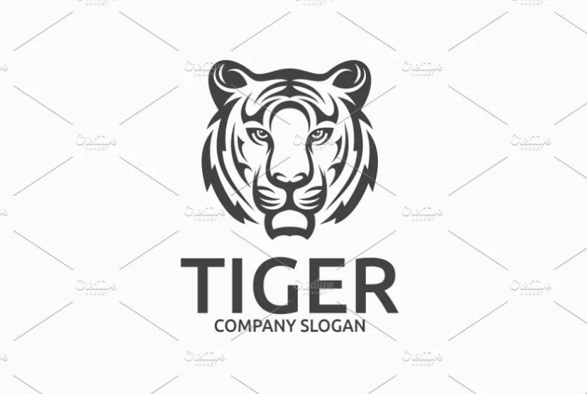 Confident Tiger Logotype