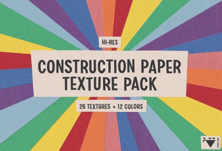 Construction Paper Texture Pack