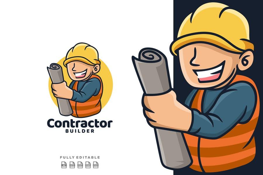 Contractor Logo Design Idea