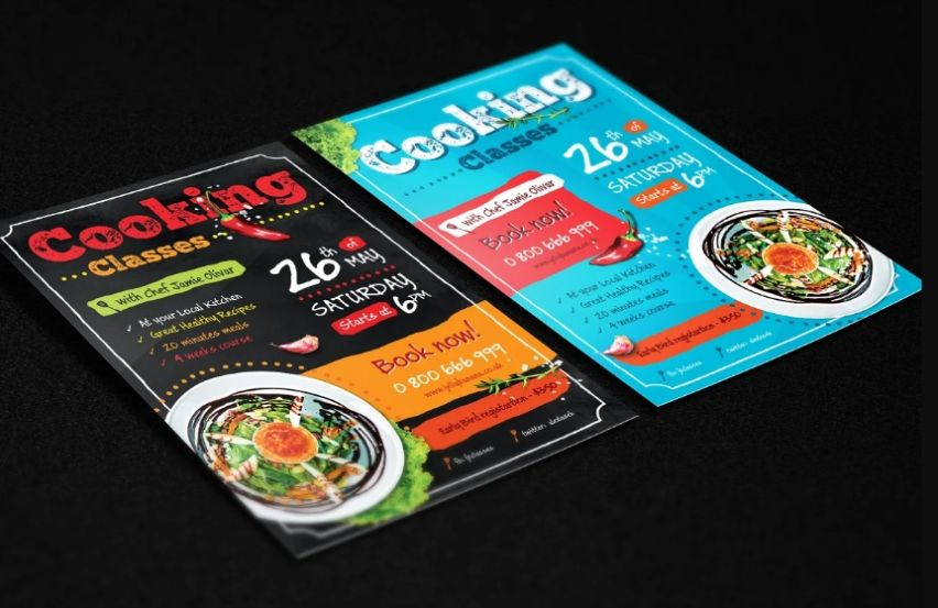 Cookery Classes Flyer Template