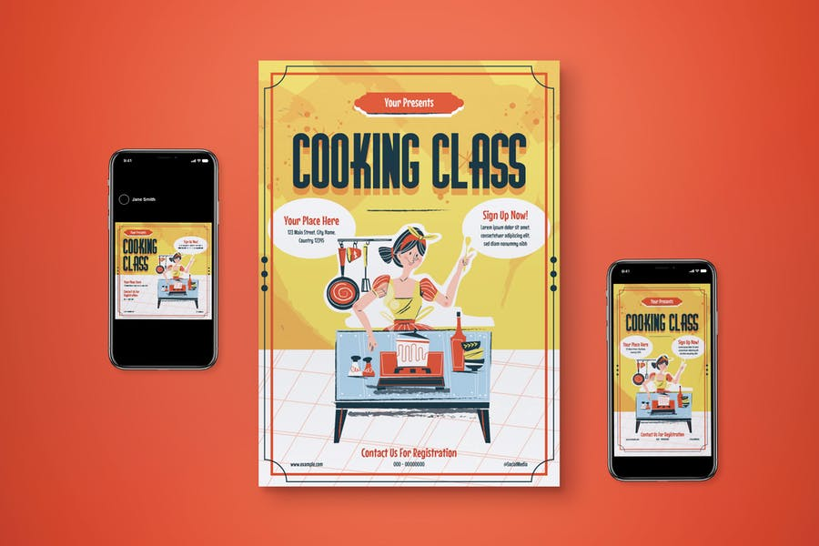 Cooking Class Promotional Set
