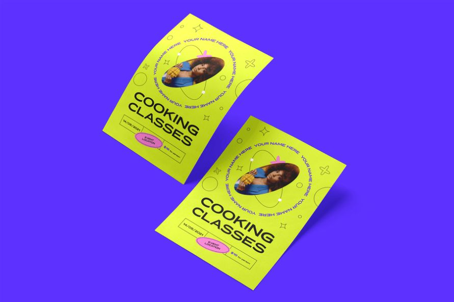 Cooking Classes Promotion Poster