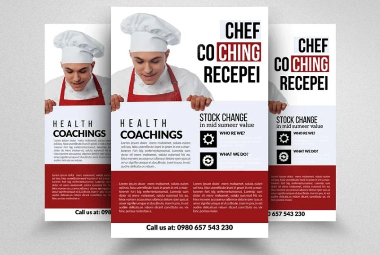Cooking Coach Flyer Template