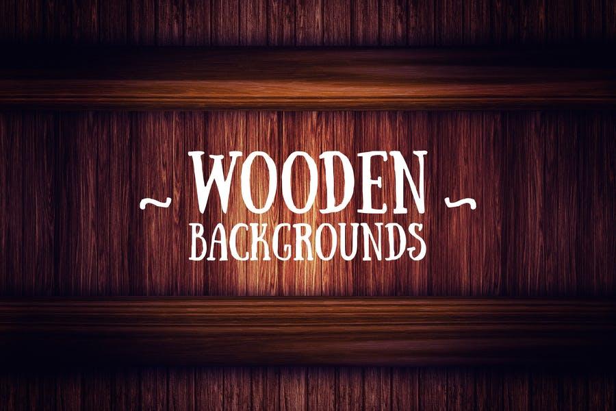 Cozy Wooden Background Design