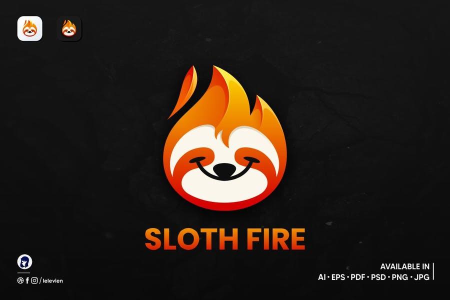 Crative Sloth Logo Design