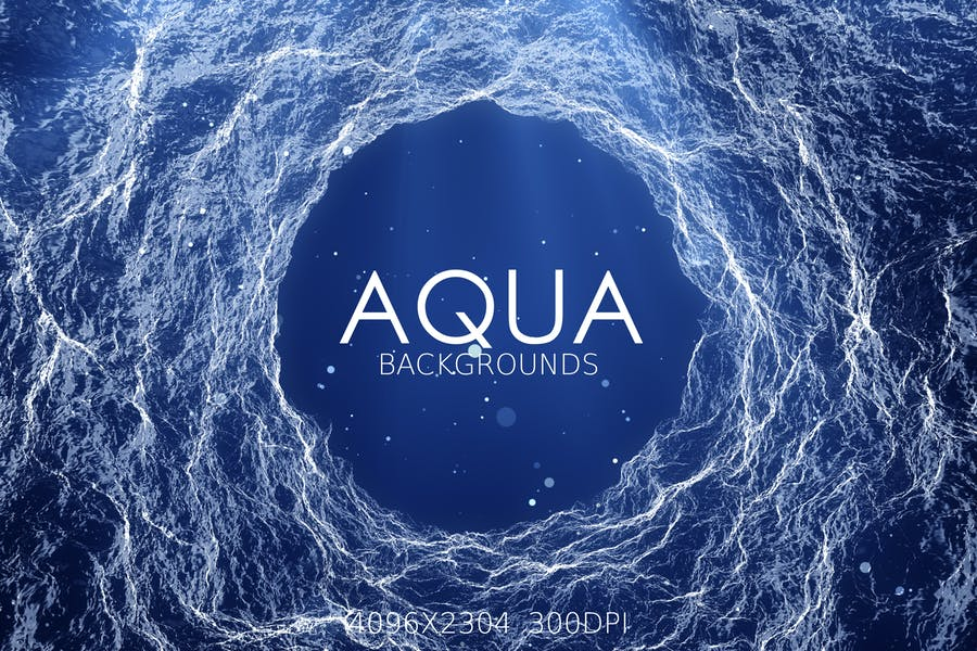 Creative Aqua Flow Backgrounds