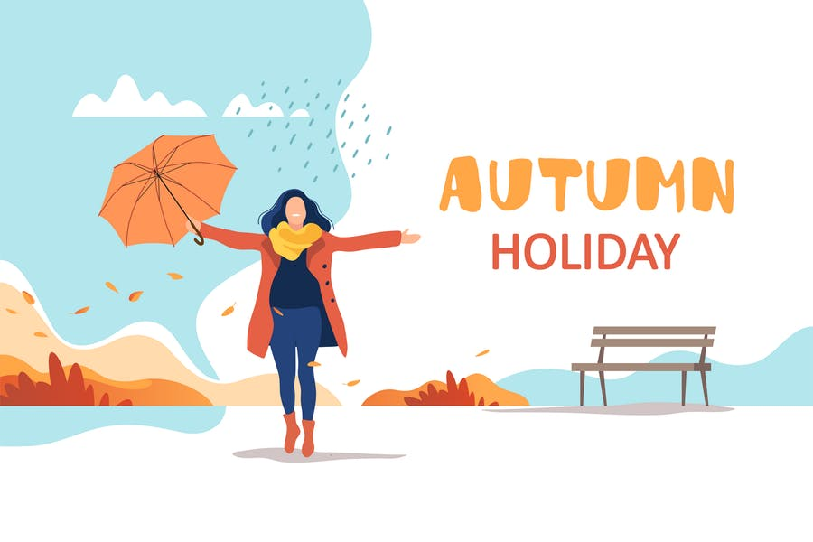 Creative Autumn Holiday Backgrounds