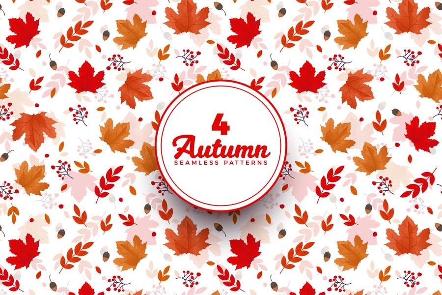 Creative Autumn Patter Designs