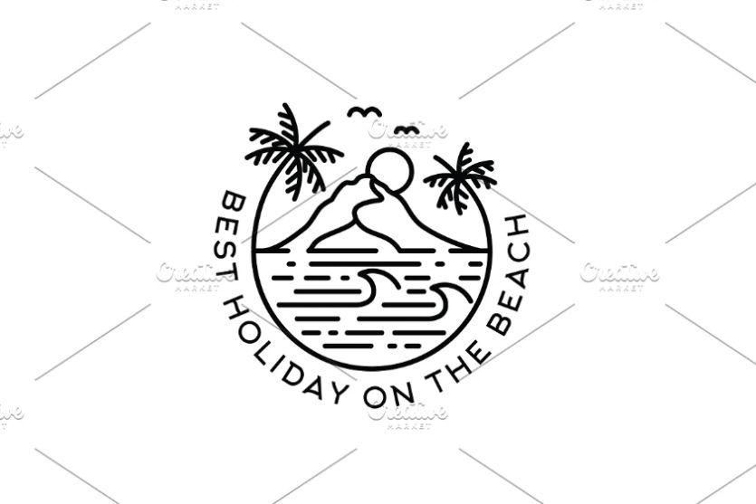 Creative Beach Logo Designs