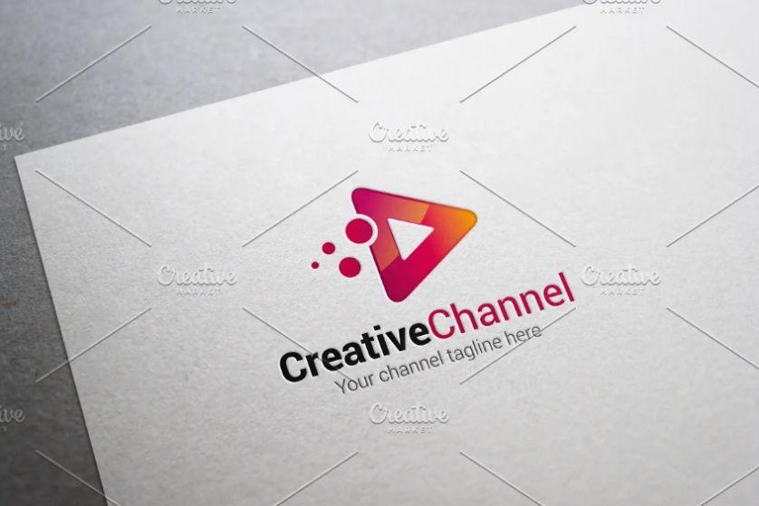 Creative Channel Logo Design
