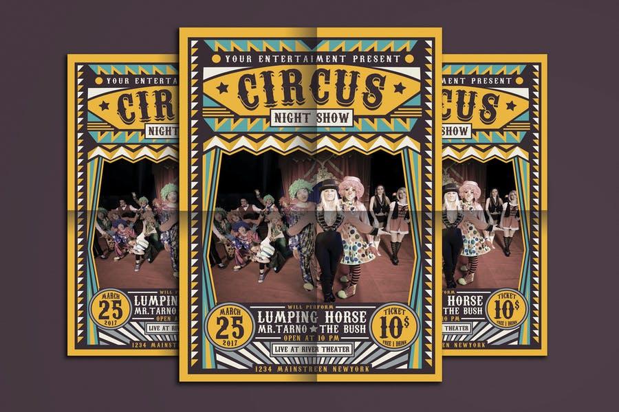 Creative Circus Flyer Template