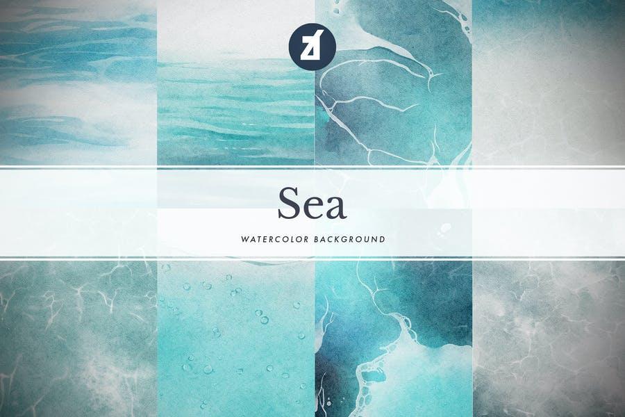 Creative Colorful Sea Backgrounds