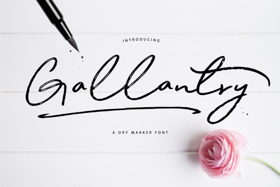 Creative Dry Font Design